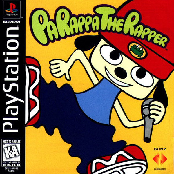 Parappa the Rapper [NTSC-U] Front Cover
